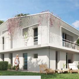 Résidence neuve de 15 appartements avec terrasse ou jardin et parking - Mérignac Robinson