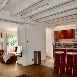 Maison de ville avec garage, jardin, terrasse, 3 chambres, Bordeaux Caudéran Les Maréchaux