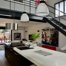 Loft en duplex avec terrasse, 2 stationnements, 3 chambres, 1 bureau - Villenave d'Ornon - Bordeaux - Nouvelle Aquitaine - Immobilier